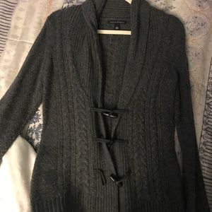 Toggle open cardigan